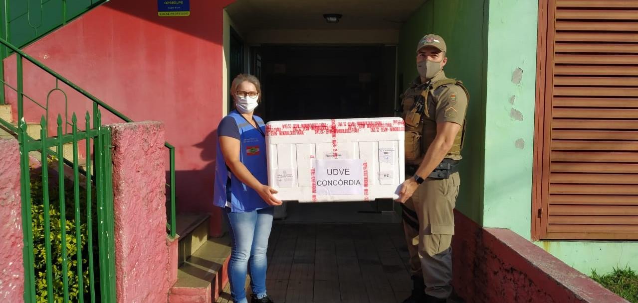 Amauc recebe mais 780 doses de vacinas da Coronavac