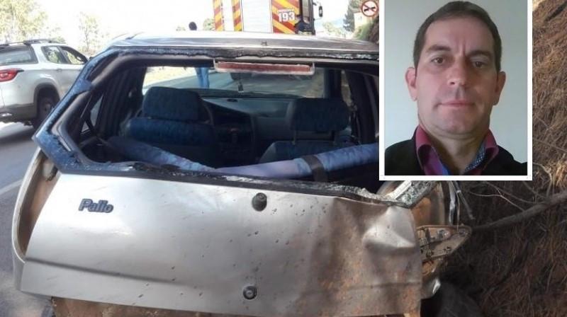 Morre motorista que foi ejetado de carro em capotamento