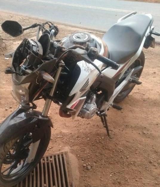 Acidente com moto de Seara deixa homem de 38 anos gravemente ferido
