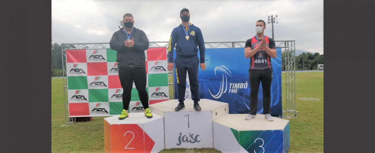 Concórdia conquista seis medalhas na Primeira Etapa do Estadual de Atletismo