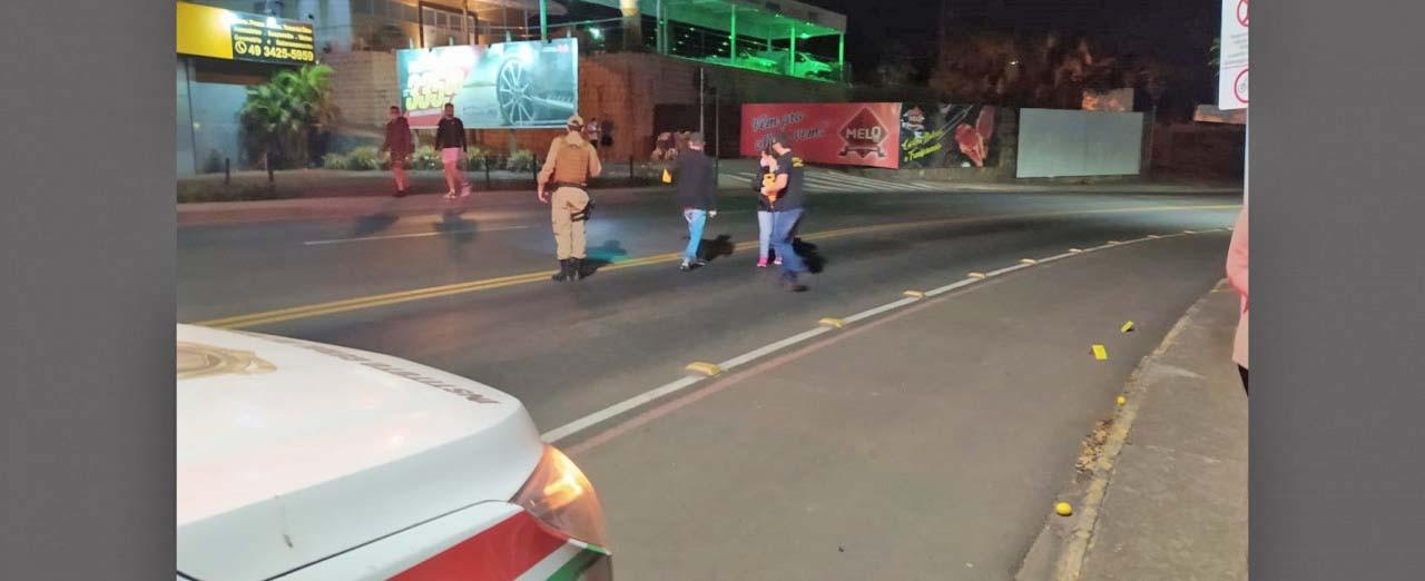 Polícia segue buscas por autor de assassinato no Parque de Exposições