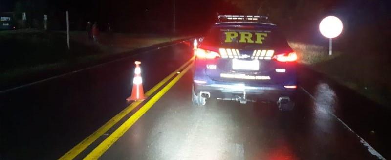 Motociclista morre em acidente na BR 153, em Três Arroios
