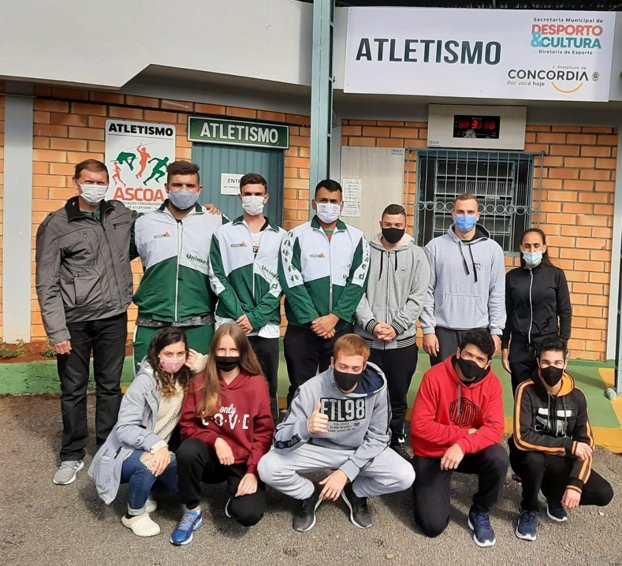 Campeonato Estadual Caixa de Atletismo Sub 20 terá participação de 11 atletas de Concórdia