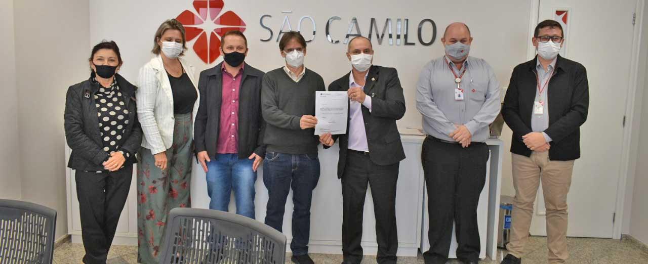 Mais de 500 mil são repassados ao Hospital São Francisco através de emenda parlamentar