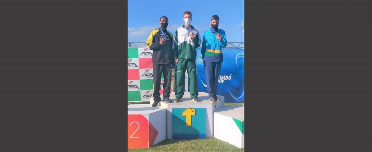 Concórdia conquista sete medalhas no Estadual de Atletismo categoria Sub 20