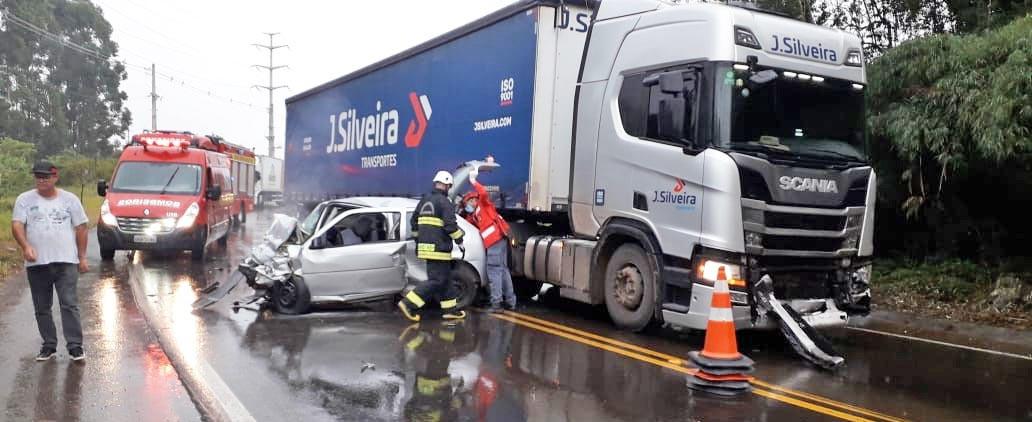 Identificado o motorista que morreu em acidente no Contorno Norte em Concórdia