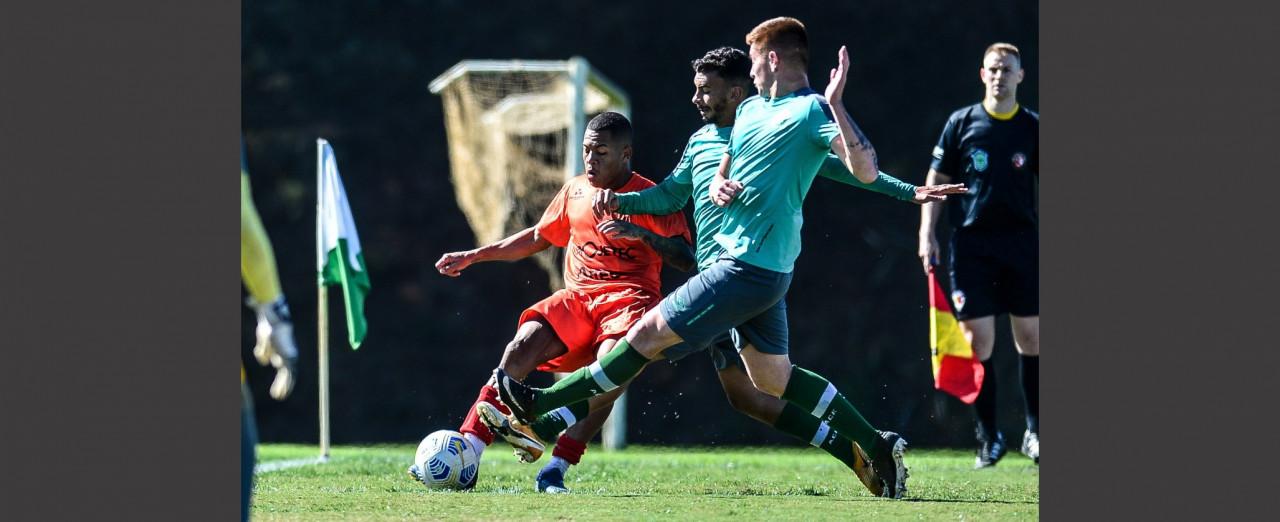 Sub-20 do Concórdia vence jogo-treino contra a Chapecoense