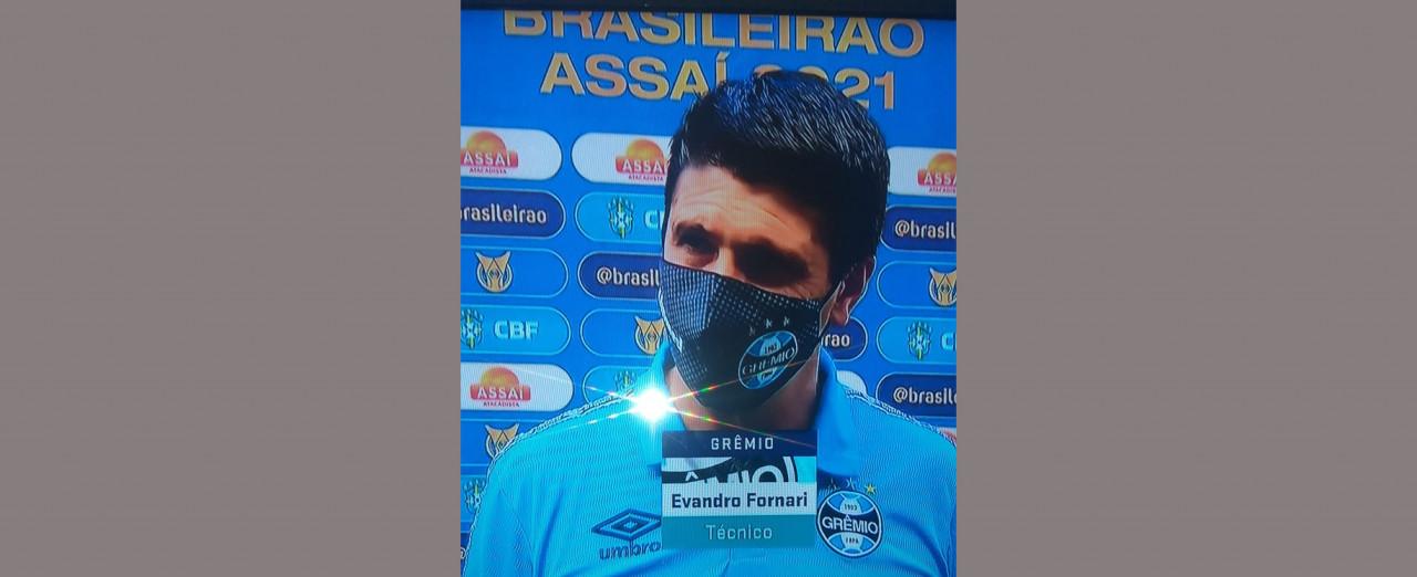 Concordiense esteve como técnico na derrota do Grêmio para o Ceará