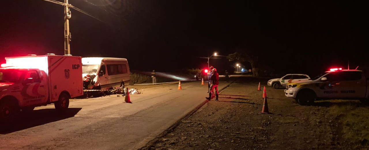 Vítima de colisão frontal na SC 355 será sepultada na tarde desta sexta-feira