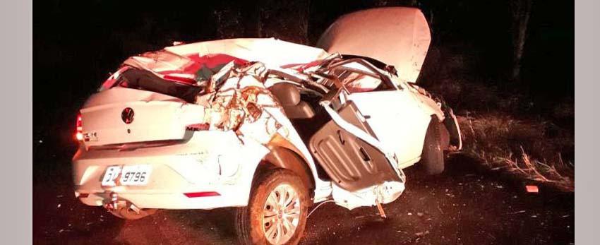 Jovem morre após sofrer ferimentos graves em acidente de carro no interior de Seara