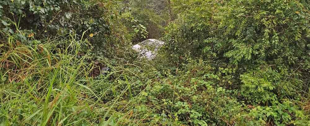 Dois acidentes são registrados na SC-283 em locais próximos e quase ao mesmo tempo