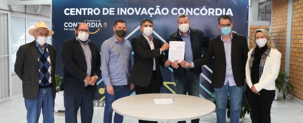 Concórdia agora está na Rede Catarinense de Inovação Tecnológica