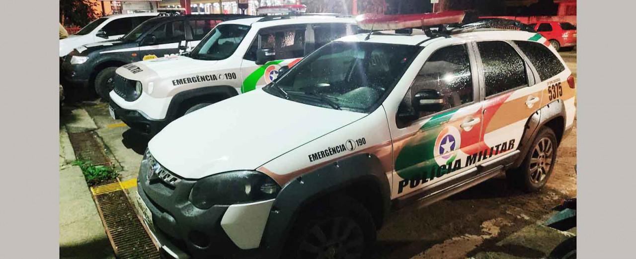 PRIMEIRA MÃO - Polícia Militar prende suspeitos de envolvimento no assassinato de jovem de Concórdia
