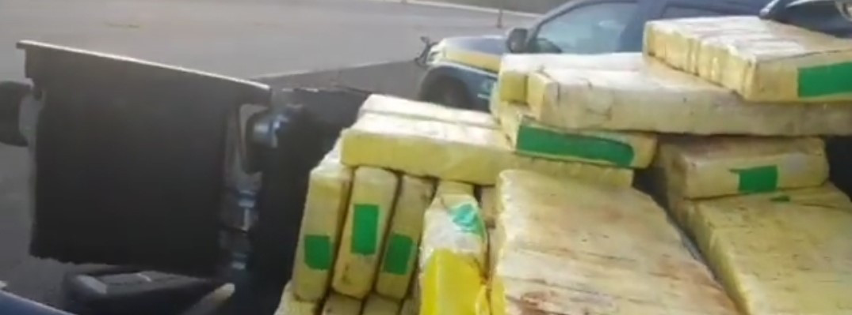 PRF prende homem com mais de 500 kg de maconha no norte gaúcho