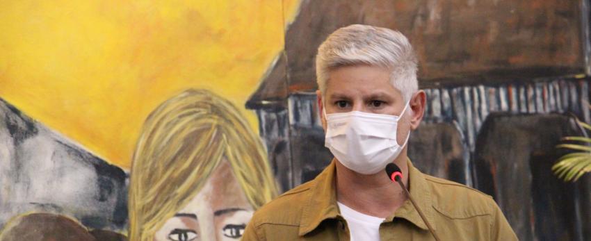 Ferri pede redutor de velocidade na Senador Attílio Fontana