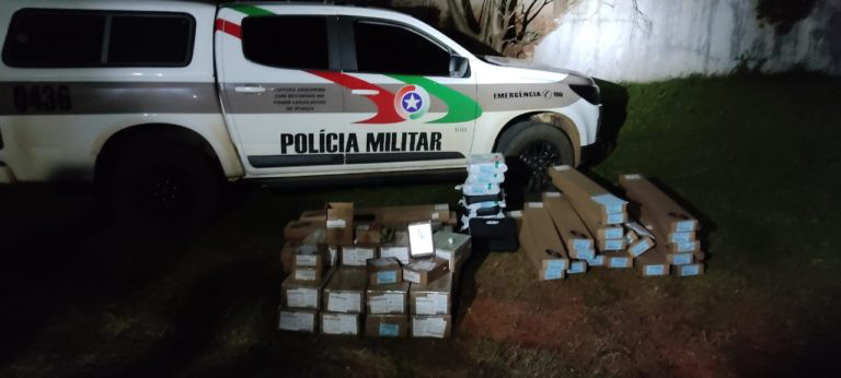 Bandidos que atacaram caminhão com armas em SC são presos
