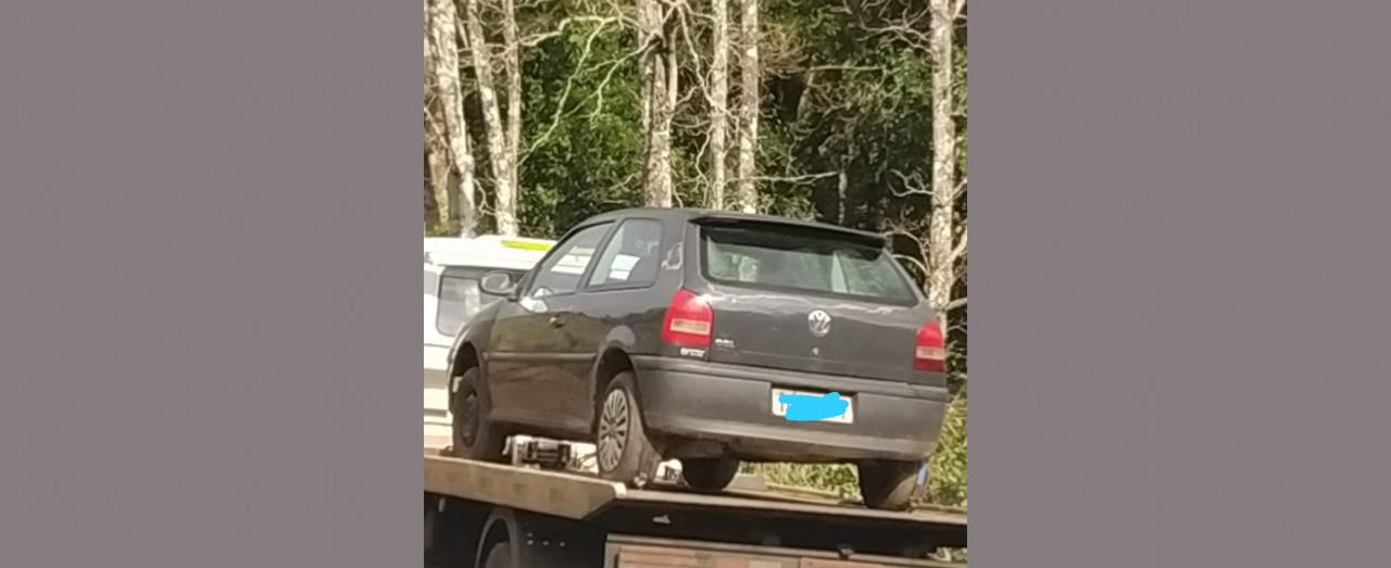 PMRv recupera veículo com registro de furto em Ipumirim