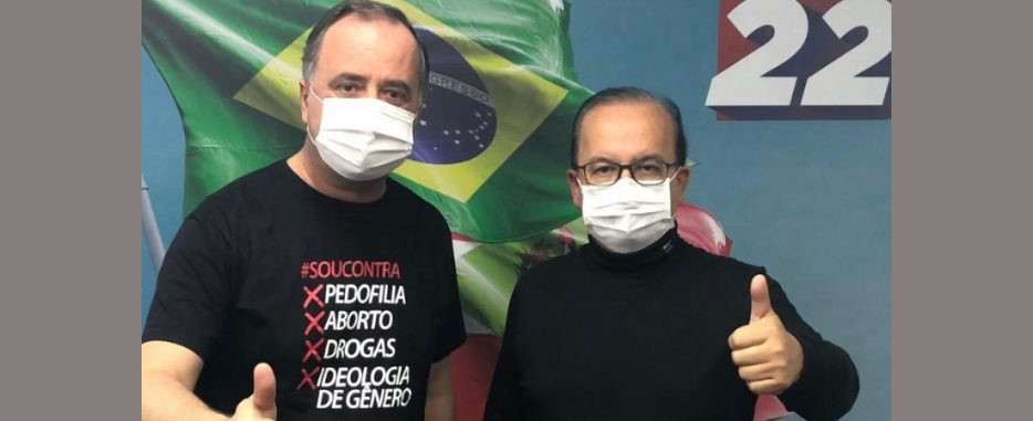 Jorginho Mello é o primeiro a alinhar parcerias em busca do Governo do Estado