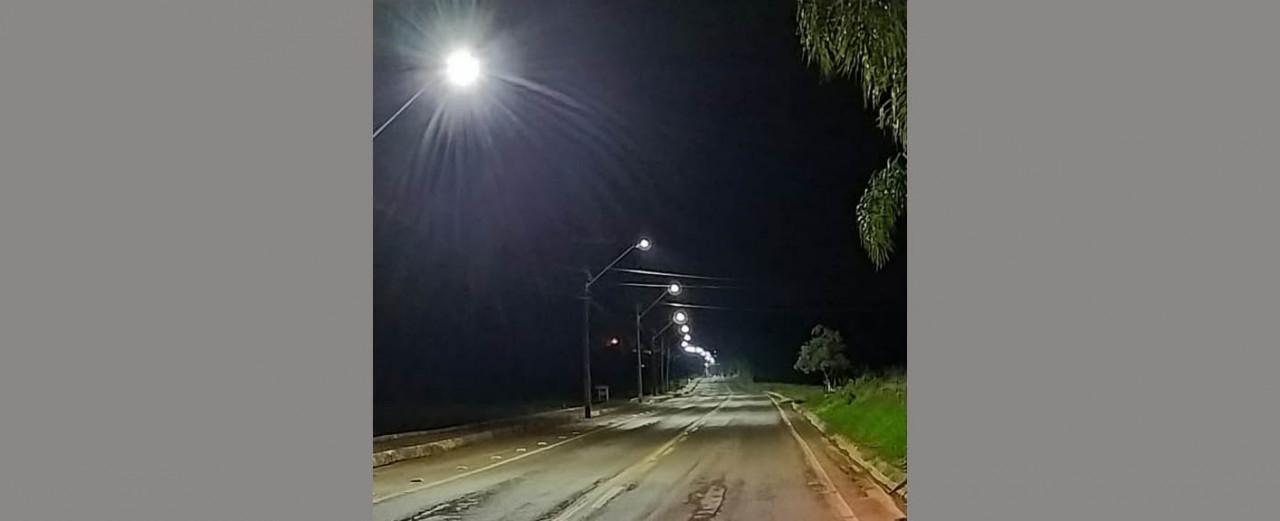 Prefeitura de Peritiba faz instalação de lâmpadas de Led em pontos da cidade