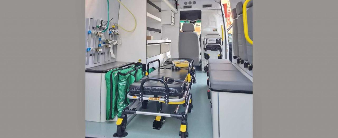 Prefeitura de Lindóia do Sul recebe ambulância UTI