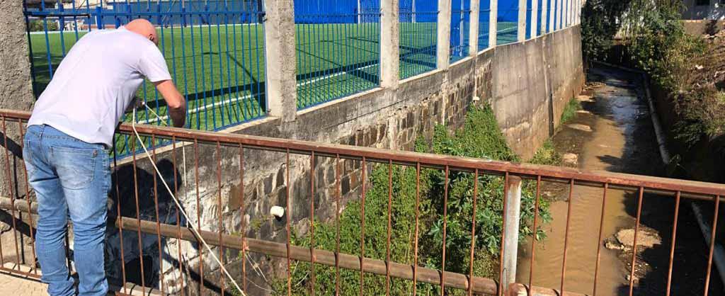 Prefeitura de Concórdia inicia o monitoramento da qualidade da água do Rio dos Queimados