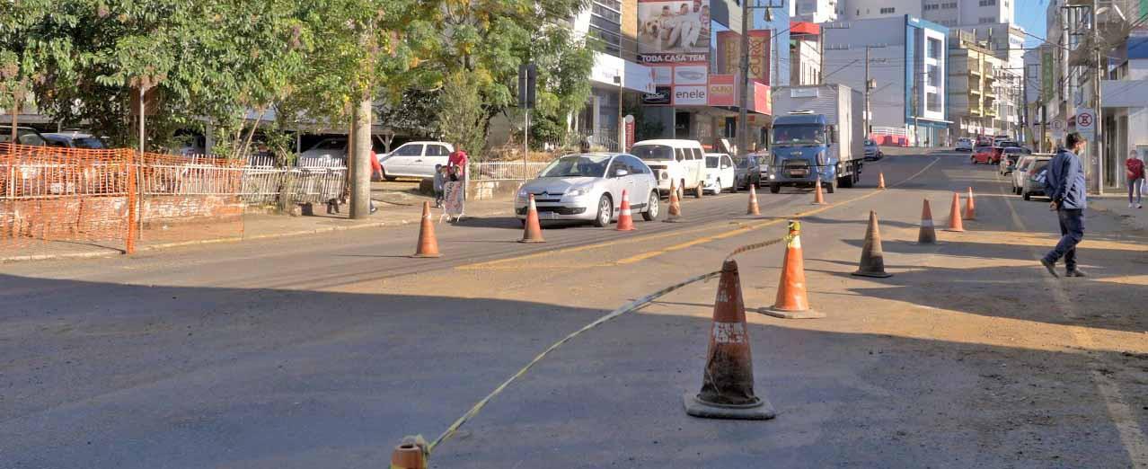 Rua Dr. Maruri será interditada para reparação asfáltica