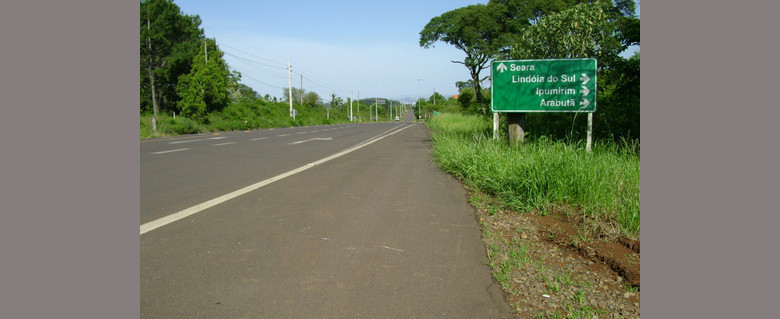 Planaterra fará a revitalização do primeiro trecho da SC 283 entre Chapecó e Arvoredo