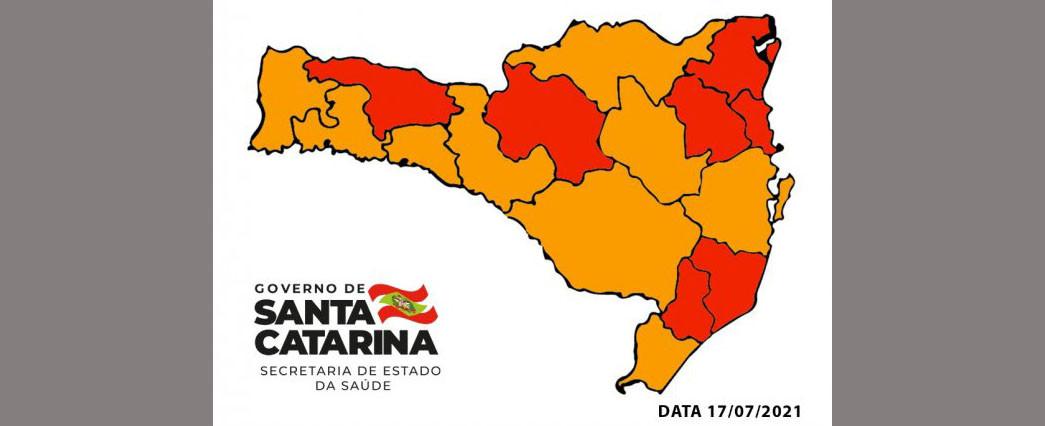 Região da Amauc permanece no nível grave no Mapa Sanitário pela segunda semana consecutiva