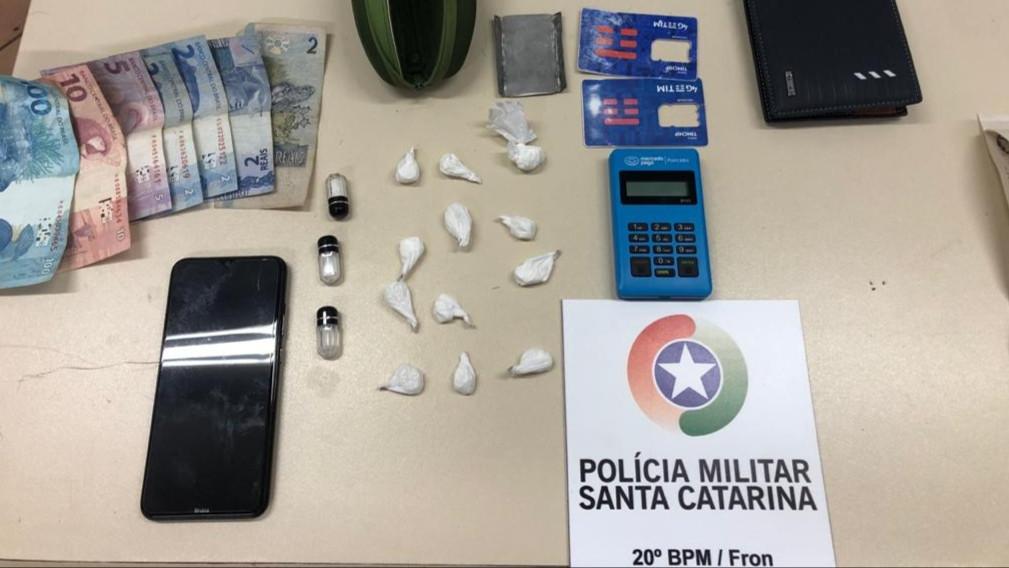 Homens são detidos em Seara por suspeita de tráfico de drogas