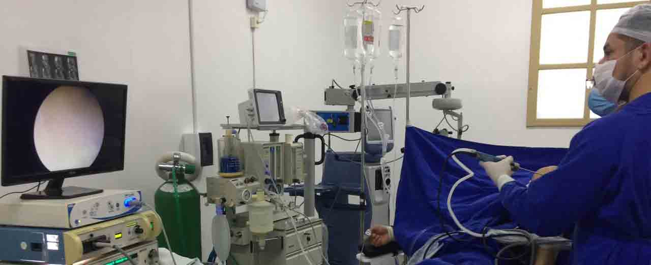 Primeira cirurgia ortopédica é realizada no Hospital de Piratuba e Ipira