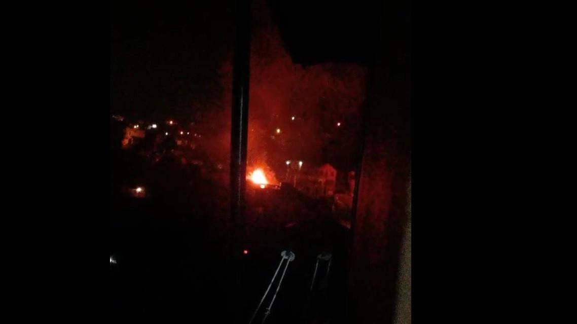 Residência é parcialmente destruída por incêndio em Concórdia