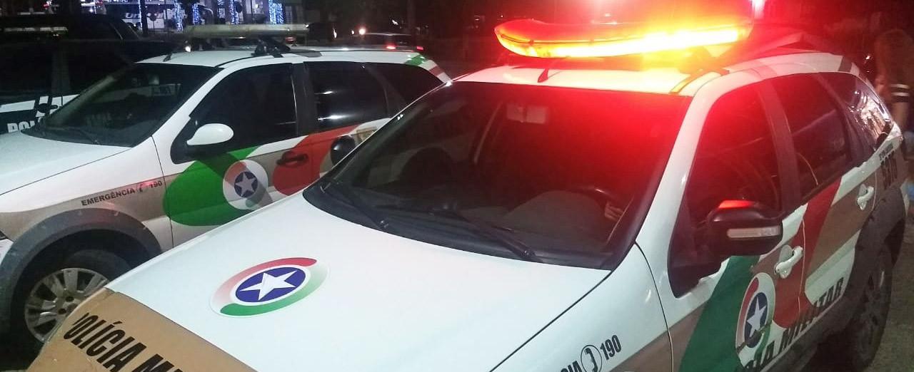 Homem é preso pela Polícia Militar depois de furtar dinheiro em estabelecimento de Concórdia