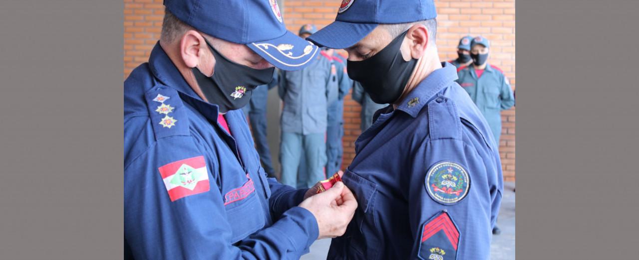 Bombeiros Militares de Itá passam a ter comandante