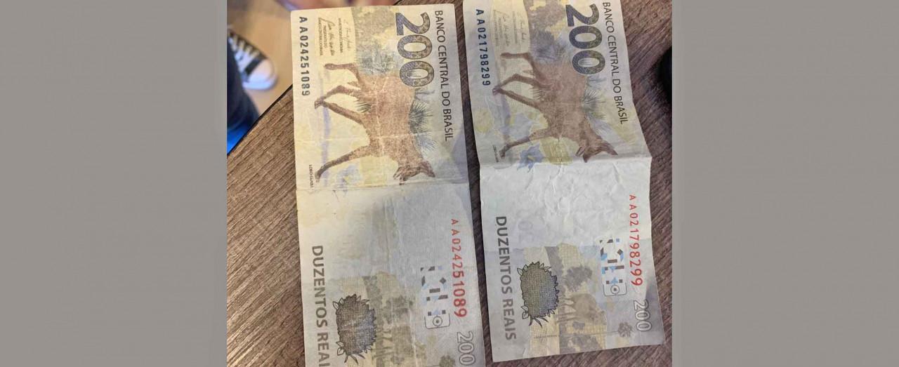 Mulher faz compras com nota falsa de R$ 200,00 em loja de Concórdia