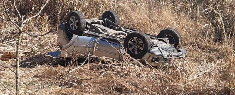 Deputado Coronel Mocellin sofre acidente com de carro na BR-282 próximo a Iraceminha