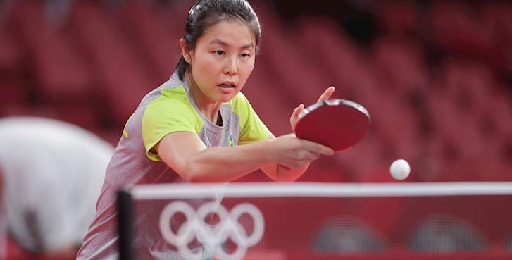 Atleta da ACTM perde e se despede do torneio simples nos Jogos Olímpicos de Tóquio