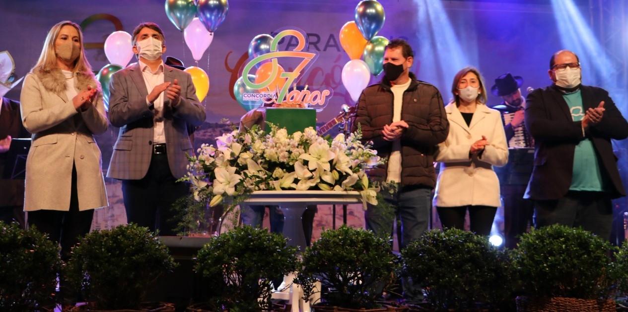 Aniversário de Concórdia marcado por homenagens