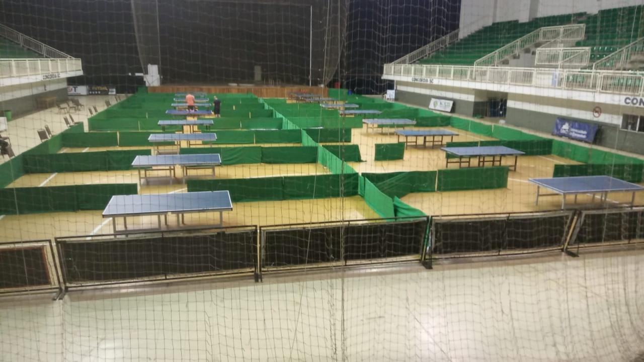 OUÇA: Cerca de 300 atletas vão participar do Circuito Catarinense de Tênis de Mesa