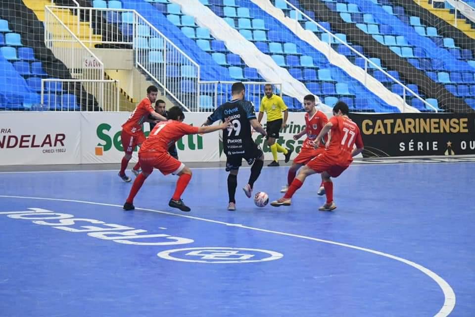ACF perde para o Joinville pelo Estadual de Futsal Sub-20