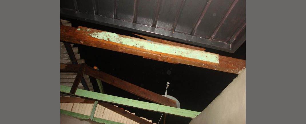 Vinte e oito residências registram danos por causa do temporal em Concórdia