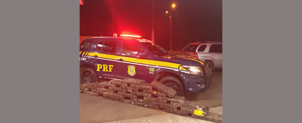 PRF dá prejuízo de quase R$ 600 mil ao tráfico de drogas, em Xanxerê