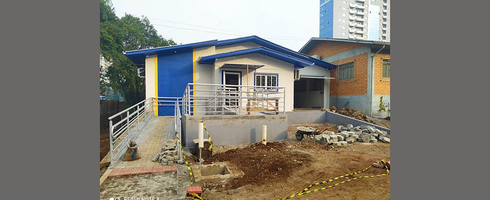 Obras do IML de Concórdia devem ficar prontas no fim desse mês