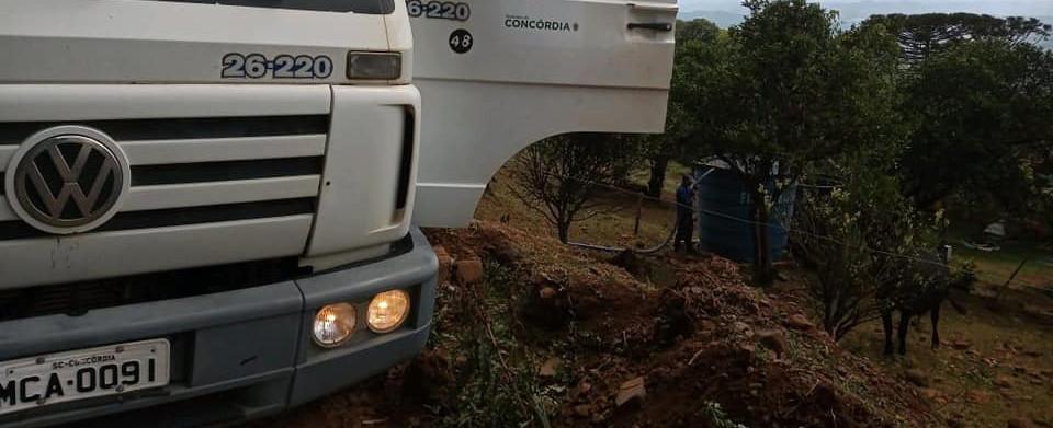 OUÇA: Mesmo antes da chuva, Prefeitura vinha registrando redução na demanda por transporte de água