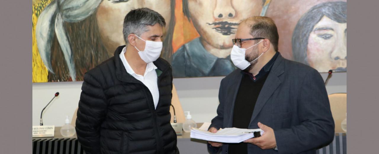 Administração entrega a LDO 2022 à Câmara de Vereadores de Concórdia