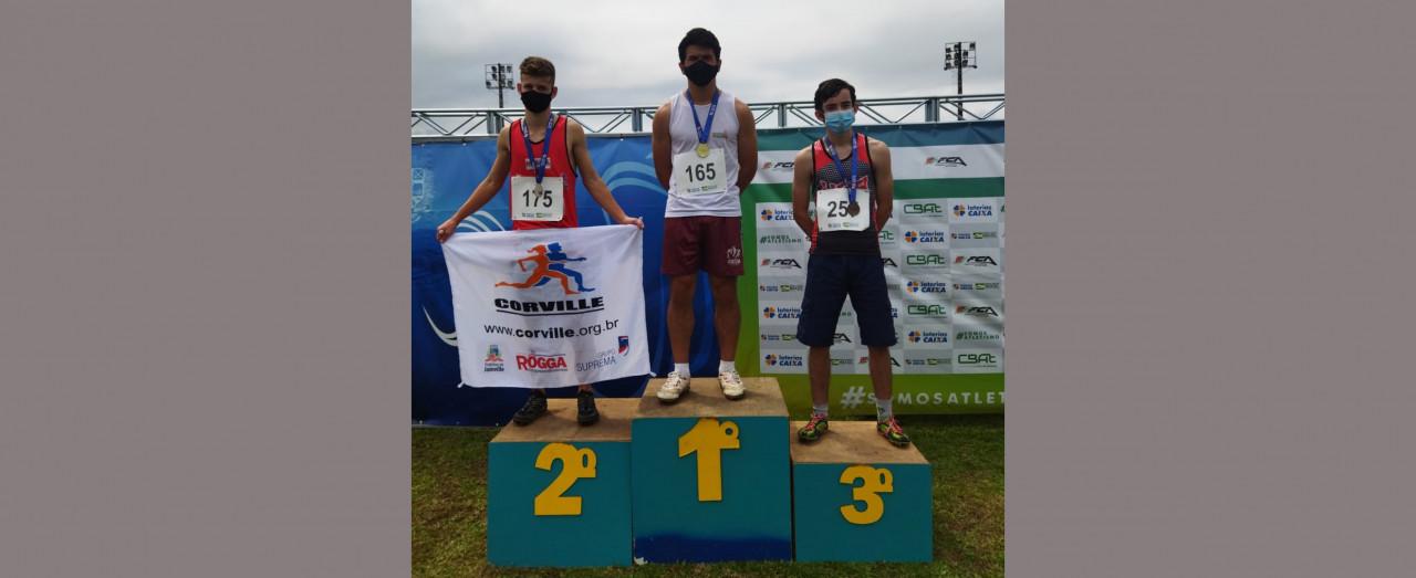 Atletismo de Concórdia conquista seis medalhas no Estadual Caixa