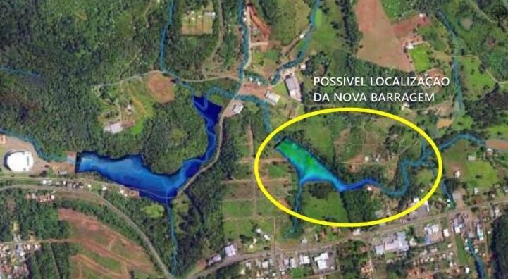 OUÇA: Prefeito reforça que nova barragem de contenção vai complementar a já existente