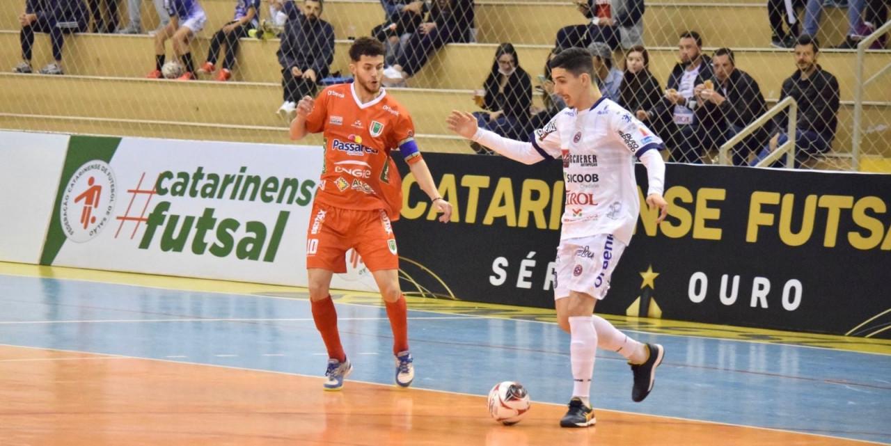 ACF é goleada pelo Joaçaba na estreia da segunda fase da Série Ouro