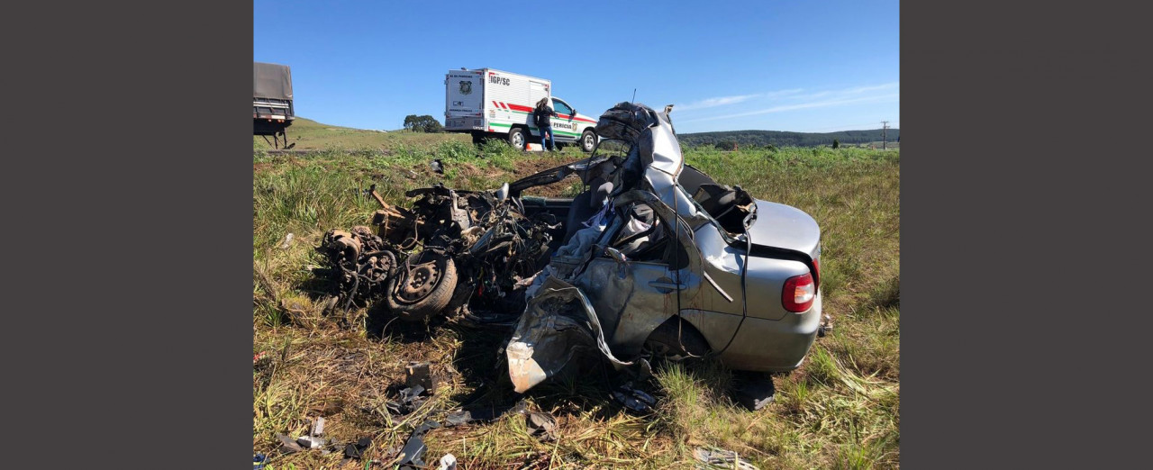 Identificados os mortos de acidente na BR 153 em Água Doce
