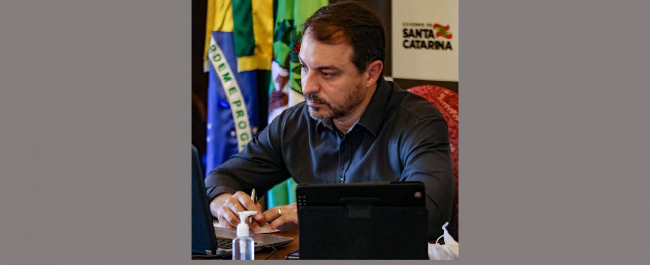 Governador Carlos Moisés vai estar em Concórdia nesta sexta-feira
