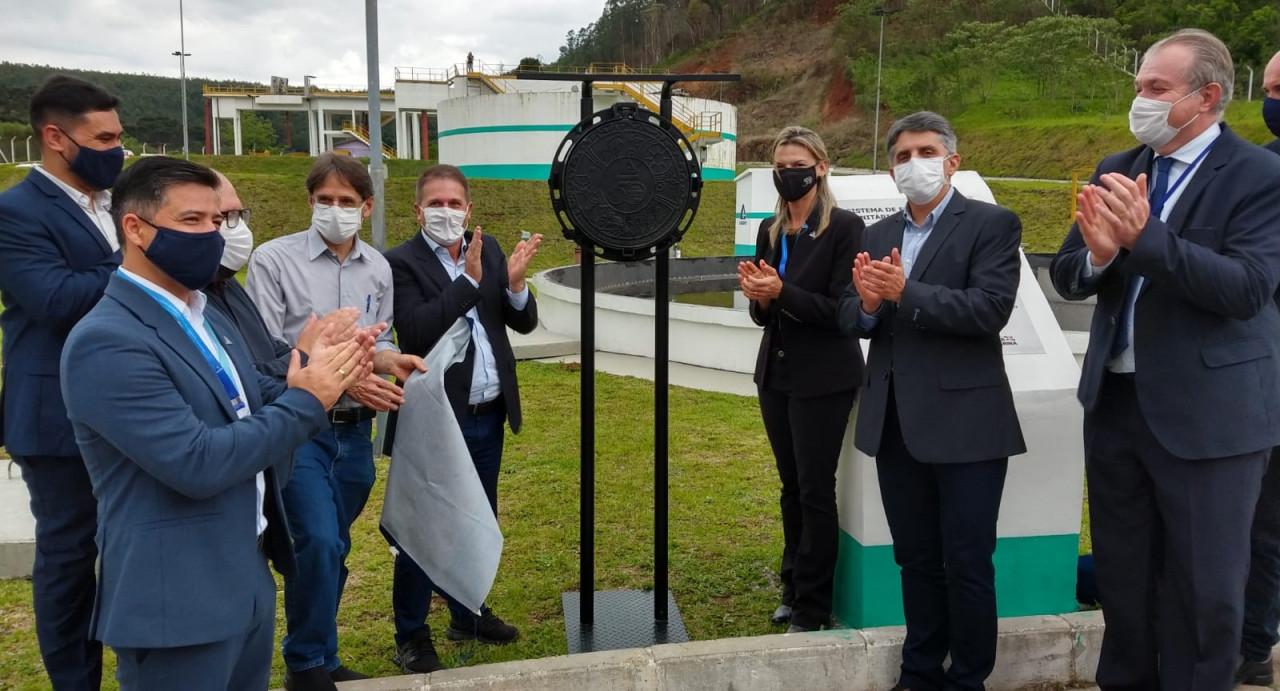 Governo do Estado e Casan entregam infraestrutura de esgoto em Concórdia